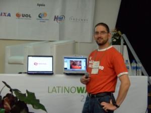 Charla de Elastix en Latinoware