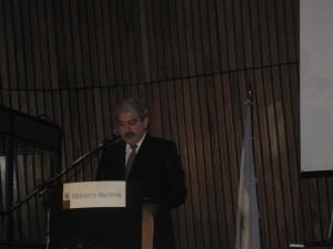 Aníbal Fernández Jefe del Gabinete Argentino