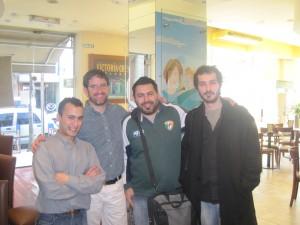 Alan, Rafael Bonifaz, Federico Pereira, ???