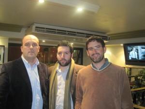 Sergio Alvano, Marcelo Aliaga, Rafael Bonifaz