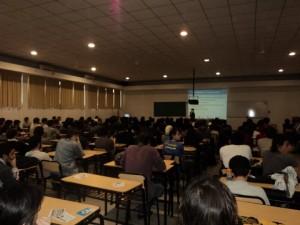 Rafael Bonifaz en la Universidad Nacional La Plata