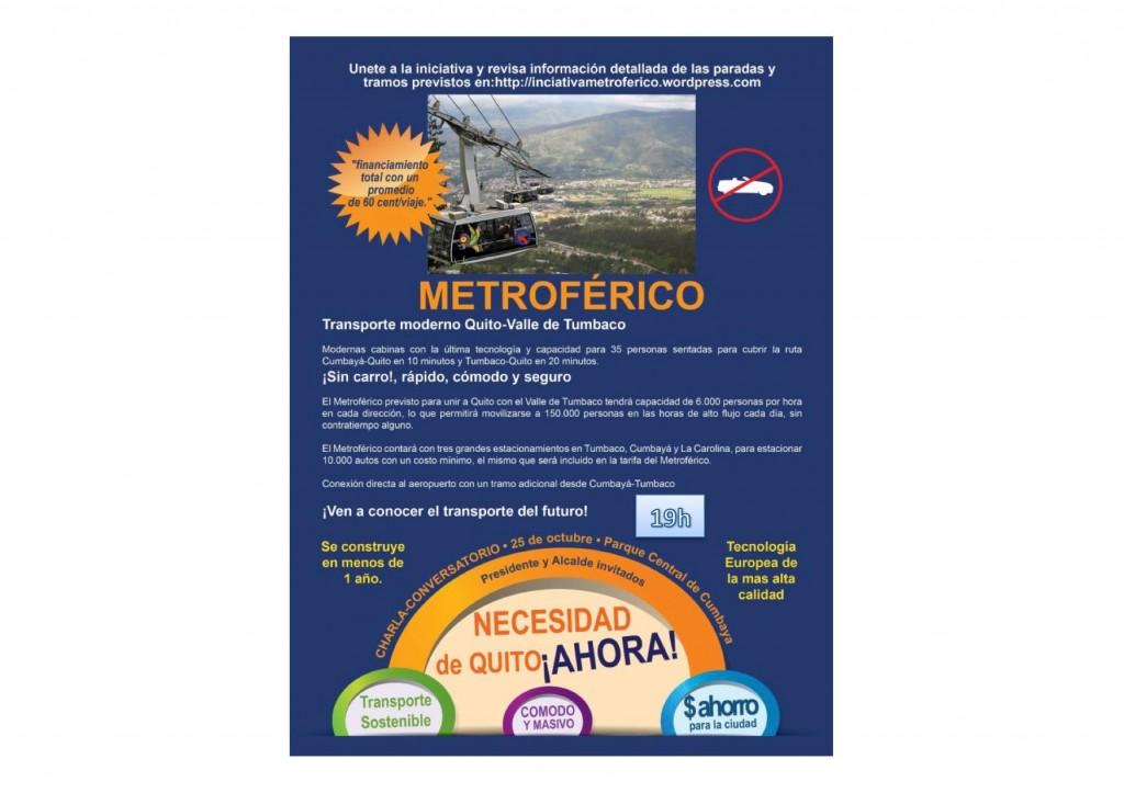 Reunión Metroférico jueves 25 de octubre 2012
