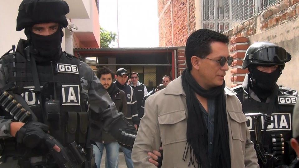 Paulcoyote detenido por la policía
