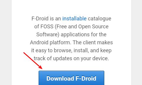 Libera tu Android con F-droid