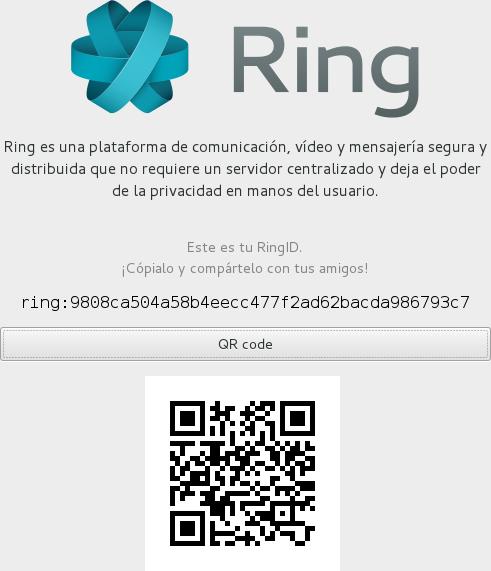 RingID y código QR