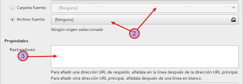 Subir archivos a BitTorrent