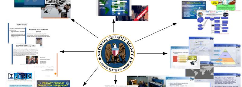 Las Capacidades de Vigilancia de la NSA Según los Documentos de Snowden